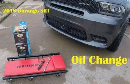 2018 Durango SRT Oil Change Palmdale California 2018
