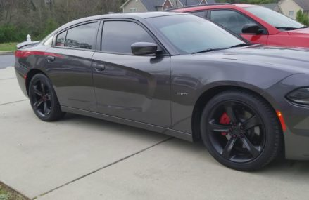 Dodge charger r/t with spiked lug nuts in 90704 Avalon CA