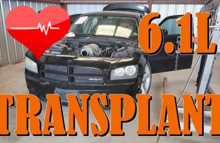 Dodge Charger 6.1 Hemi SRT-8 SALVAGE COPART Rebuild Part 1 Near 72313 Bassett AR