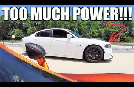 The McLaren FINALLY LOSES??? 570S vs 850WHP Hellcat… TOO MANY BALD EAGLES Around Zip 22301 Alexandria VA