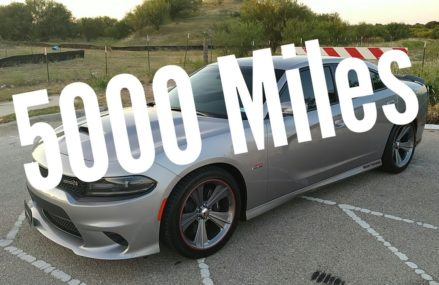 5000 miles review   2018 Dodge Charger 392 Scatpack Now at 3812 Bartlett NH