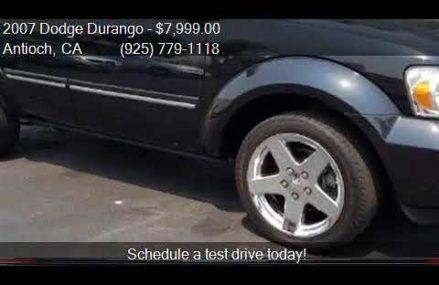 2007 Dodge Durango Limited 4dr SUV for sale in Antioch, CA 9 Fullerton California 2018