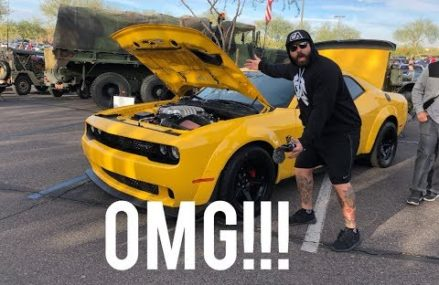 ITS HERE!! THE YELLOW JACKET DODGE DEMON!!!!!!!!!! For Marbury 20658 MD
