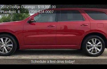 2012 Dodge Durango R/T AWD 4dr SUV for sale in Plainfield, I Peoria Arizona 2018