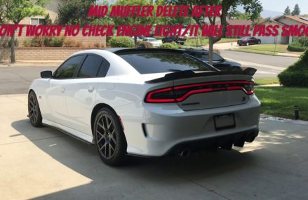 Mid Muffler Delete 2018 Dodge Charger ScatPack by Mopar4Life From 60568 Aurora IL