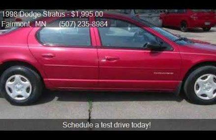 1998 Dodge Stratus Base 2.4l at San Francisco 94188 CA