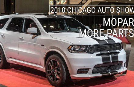 Dodge Durango Just Got Even Better | MoPar Options for R/T, SRT | 2018 Chicago Auto Show Aurora Illinois 2018