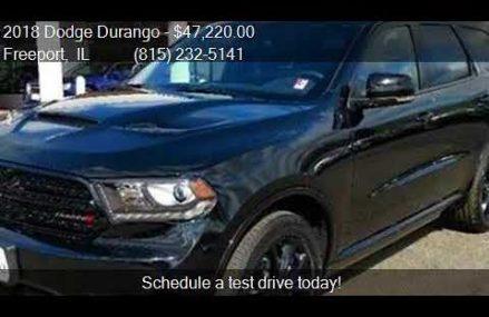 2018 Dodge Durango GT AWD 4dr SUV for sale in Freeport, IL 6 Tacoma Washington 2018