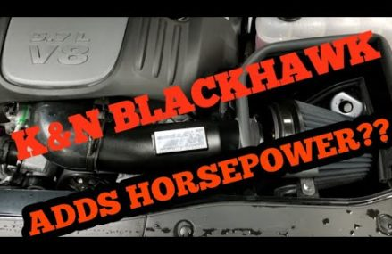 K&N BLACKHAWK Cold Air Intake install on Dodge Charger R/T 5.7 hemi Local Area 87190 Albuquerque NM