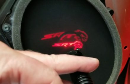 How to install ghost puddle lights on Hellcat Local Area 2763 Attleboro Falls MA