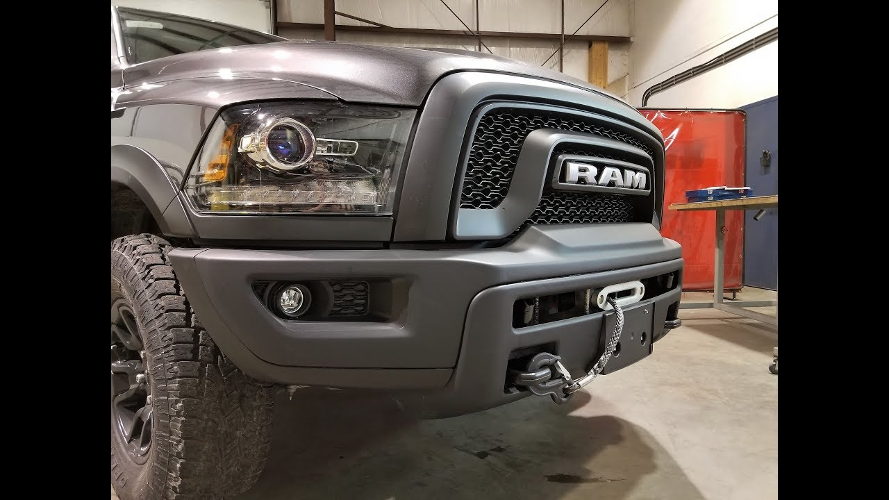 Dodge Dart Srt4 >> RAM Rebel Integrated Winch System - VICE Near 70668 Vinton LA ⋆ BlueDodge.com