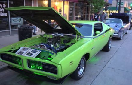 WHAT – A Lime Green Dodge Charger from 1971 with HUGE Horsepower Now at 36831 Auburn AL