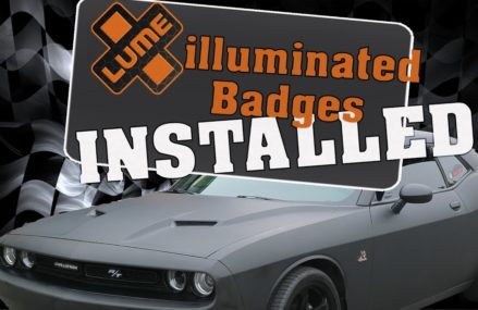 X-Lume Badges Installed…LED Fuel Rail Cover's installed on a Scat Pack Local Area 44328 Akron OH