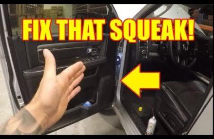How to Stop Squeaking Doors on your 2009-2018 RAM Truck – TruckTalk #34 in 92143 San Ysidro CA