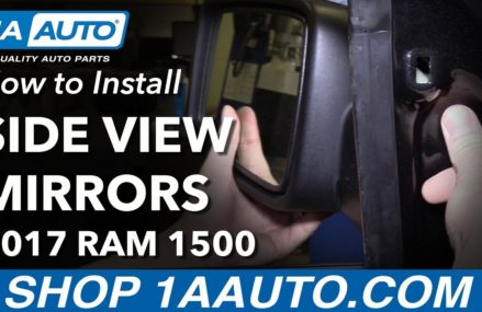How to Install Replace Side View Mirrors 2017 Ram 1500 Rockford Illinois 2018