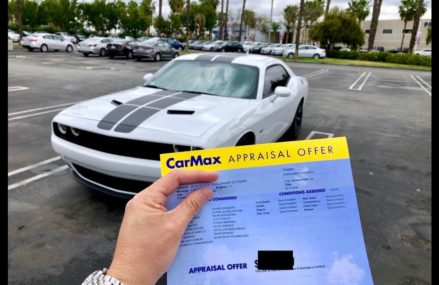 Crazy CarMax offer on my 4 month old Dodge Challenger RT… Now at 24210 Abingdon VA
