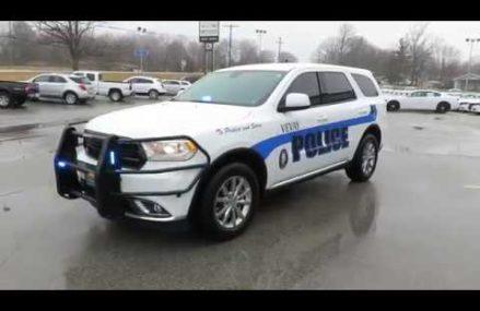 2018 Dodge Durango Police Vehicle Paterson New Jersey 2018