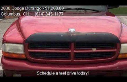 2000 Dodge Durango  for sale in Columbus, OH 43229 at REM Mo Modesto California 2018