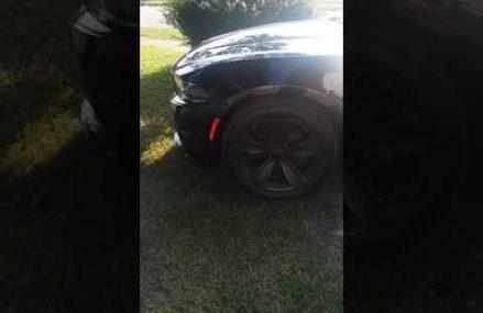 Plastic dip Dodge Charger factory  rims Now at 76011 Arlington TX