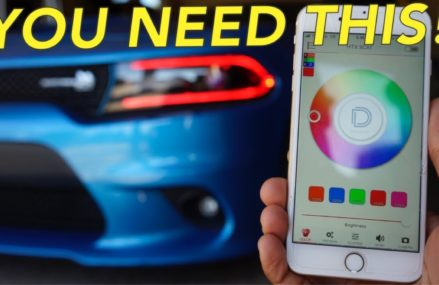 HOW TO INSTALL COLOR CHANGING LED HEADLIGHTS | BLUETOOTH APP DEMO Around Zip 72821 Altus AR