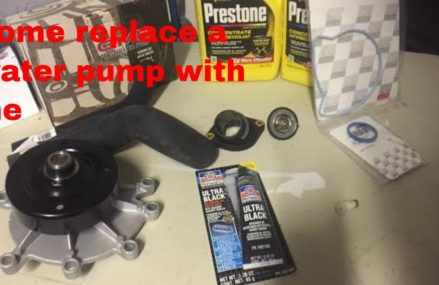 How to install or replace a water pump in a dodge dakota or anything with a 3.7 or 4.7 engine Phoenix Arizona 2018