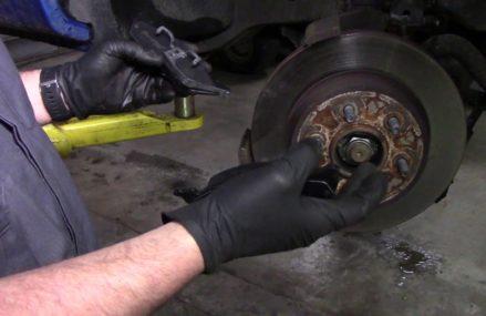 How to replace front Brake pads on Dodge Dakota 2WD Springfield Missouri 2018
