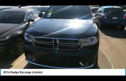 2014 Dodge Durango Ft. Worth Tx, Arlington TX, Grapevine TX U171524B Laredo Texas 2018