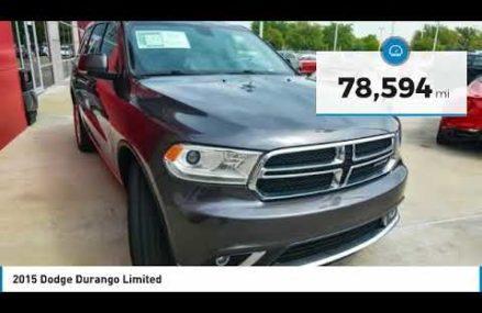 2015 Dodge Durango Ft. Worth Tx, Arlington TX, Grapevine TX U771053 Bridgeport Connecticut 2018