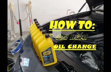 How To: Change the oil in a 392 Charger Within Zip 30202 Alpharetta GA