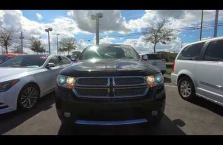 2012 Dodge Durango Citadel AWD Interior Greensboro North Carolina 2018