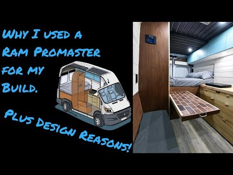 Why I Used Ram Promaster to Build a Tiny Home / Stealth Van Dodge Ram Promaster