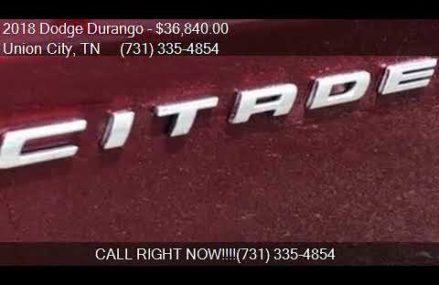 2018 Dodge Durango Citadel 4dr SUV for sale in Union City, T Visalia California 2018