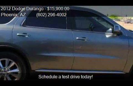 2012 Dodge Durango SXT AWD 4dr SUV for sale in Phoenix, AZ 8 Anaheim California 2018