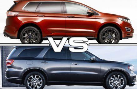 2019 Ford Edge vs 2018 Dodge Durango Mesquite Texas 2018