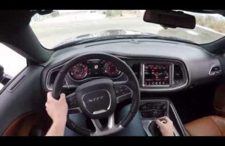 2017 Dodge Challenger SRT Hellcat 6 Speed Manual POV Drive! at 78733 Austin TX