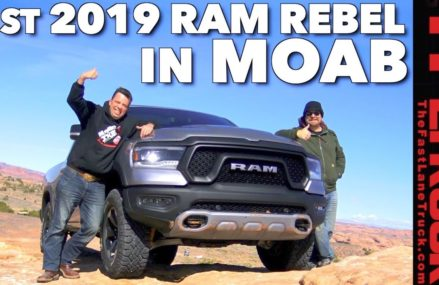 How Good Is the All New Ram Rebel Off-Road? Moab Slickrock Review in City 1089 West Springfield MA