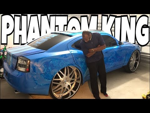 FULLY CUSTOMIZED DODGE CHARGER PHANTOM KING OFFICIALLY FOR SALE 2018