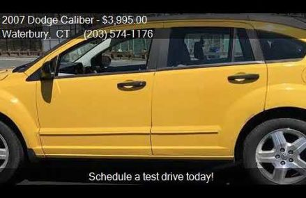Dodge Caliber Yellow Near El Paso 79908 TX USA