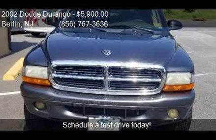 2002 Dodge Durango SLT Plus 4WD 4dr SUV for sale in Berlin, Rockford Illinois 2018