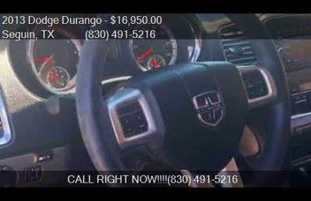 2013 Dodge Durango SXT 4dr SUV for sale in Seguin, TX 78155 Minneapolis Minnesota 2018