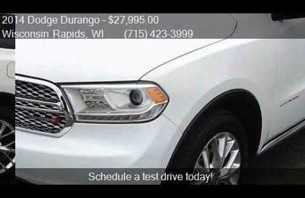 2014 Dodge Durango Citadel AWD 4dr SUV for sale in Wisconsin Springfield Missouri 2018