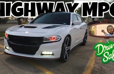 MY V6 DODGE CHARGER ON 24S HIGHWAY MPG? *VERY SHOCKING* in 87820 Aragon NM