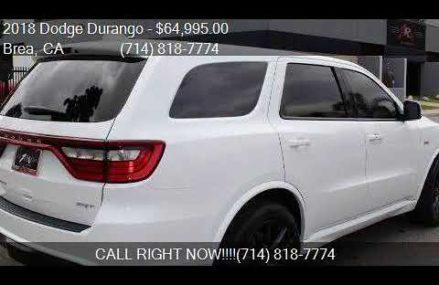 2018 Dodge Durango SRT AWD 4dr SUV for sale in Brea, CA 9282 Fremont California 2018