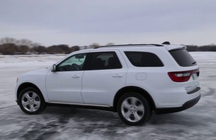 Dodge Durango Limited 2015 on frozen lake Tallahassee Florida 2018