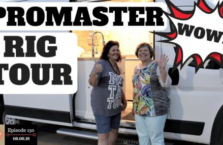 S1.E130- Rig Tour 2017 Ram Promaster. Dodge Cargo Van Camper Conversion. A Beautiful Home on Wheels. From 82243 Veteran WY