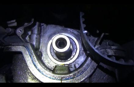 DIY Front Crank Seal: oil leak repair (all engines!) From Lusk 82225 WY