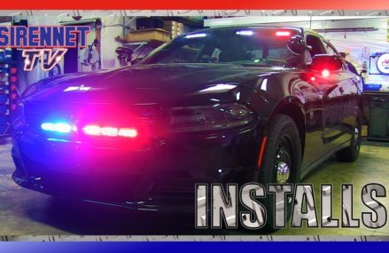 A 2017 Slicktop Dodge Charger Patrol Vehicle Installation For 23002 Amelia Court House VA