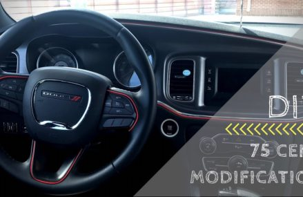 DIY 75 CENT INTERIOR MODS | 2016 DODGE CHARGER For 92304 Amboy CA