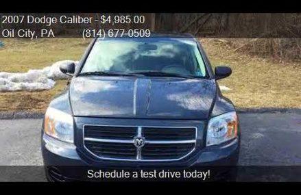 Dodge Caliber Oil in Batesville 78829 TX USA