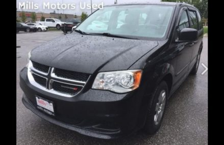 Pre Owned 2012 Dodge Grand Caravan Stow and Go Rear Seats Black Oshawa ON Stock #12220 Local Los Angeles 90072 CA